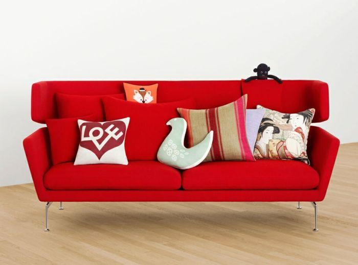 kinderzimmer gestalten kindersofa kindercouch sofa kinderzimmer - wohnzimmer gestalten rot