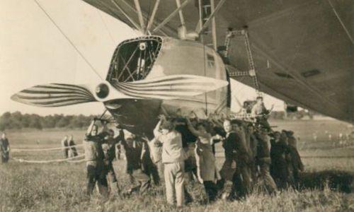 [1920] Airship pod / Nacelle de dirigeable