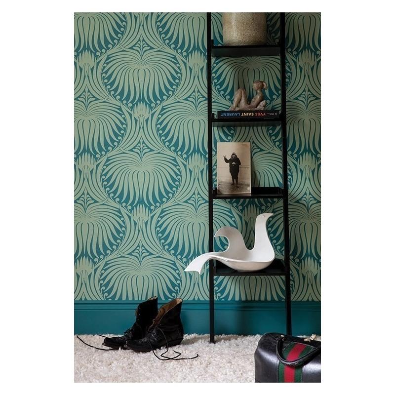 in 2020 Farrow & ball wallpaper, Lotus