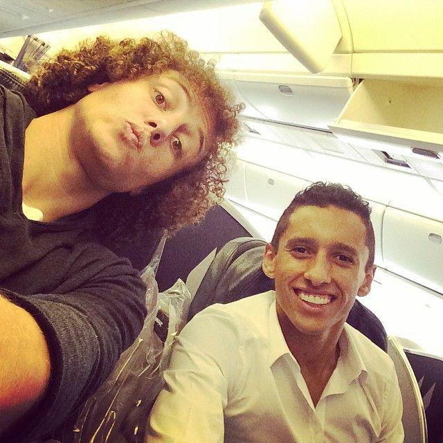 David Luiz e Marquinhos