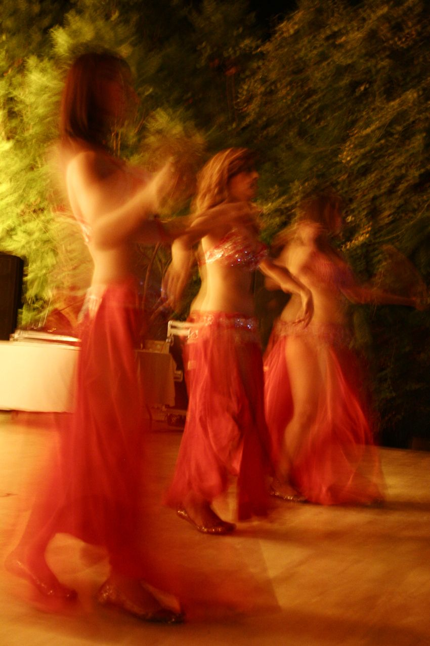 The belly dancers - Picture from Adeline's wedding @Hotel Les Deux Tours Marrakech