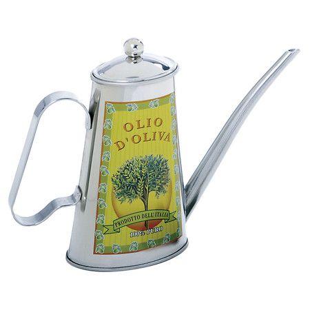 olio d oliva oil can at joss main norpro olive oil and vinegar cruets on kitchen organization oil and vinegar id=42320