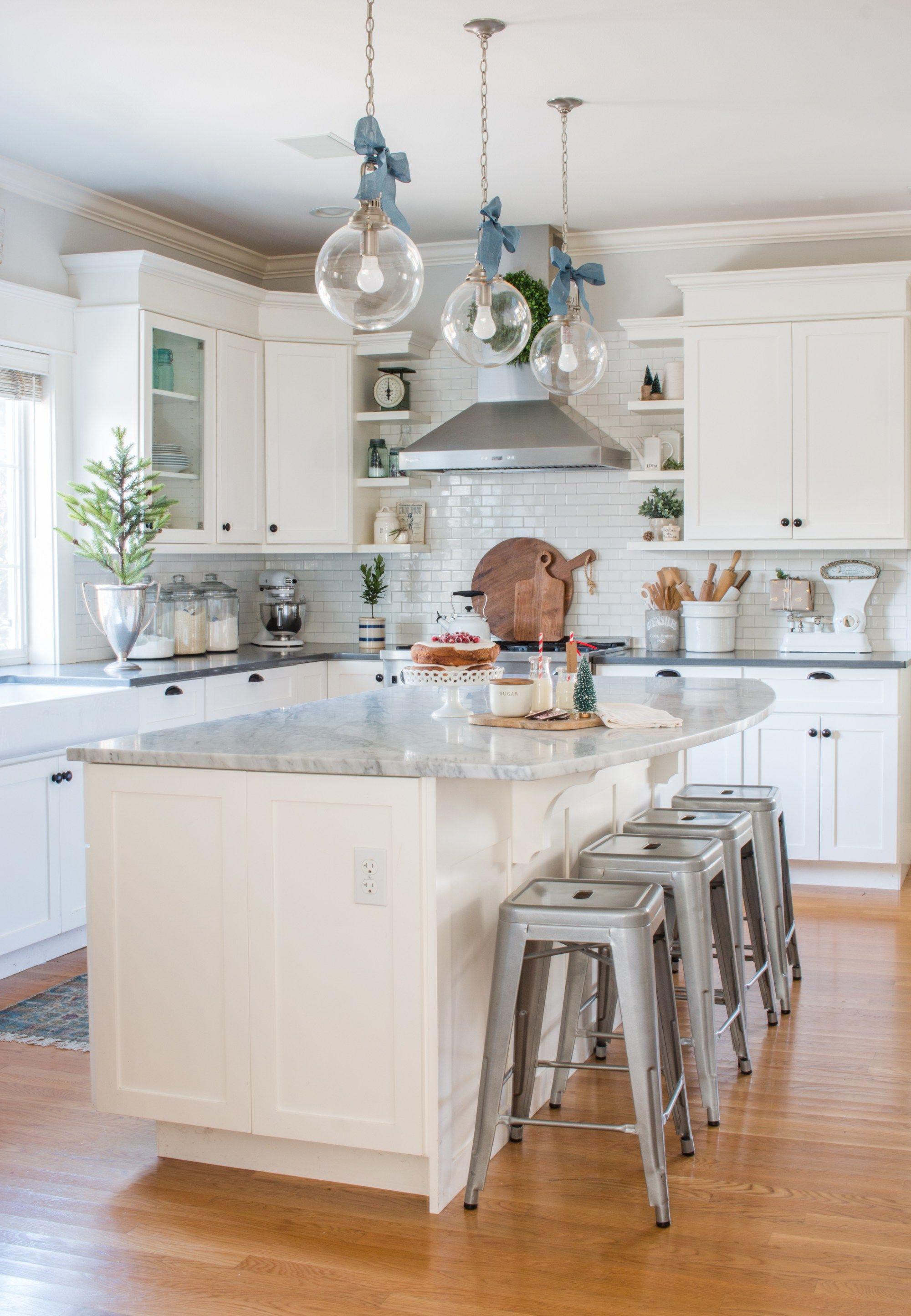 simple white christmas kitchen kitchen design kitchen remodel home kitchens on kitchen ideas simple id=56826