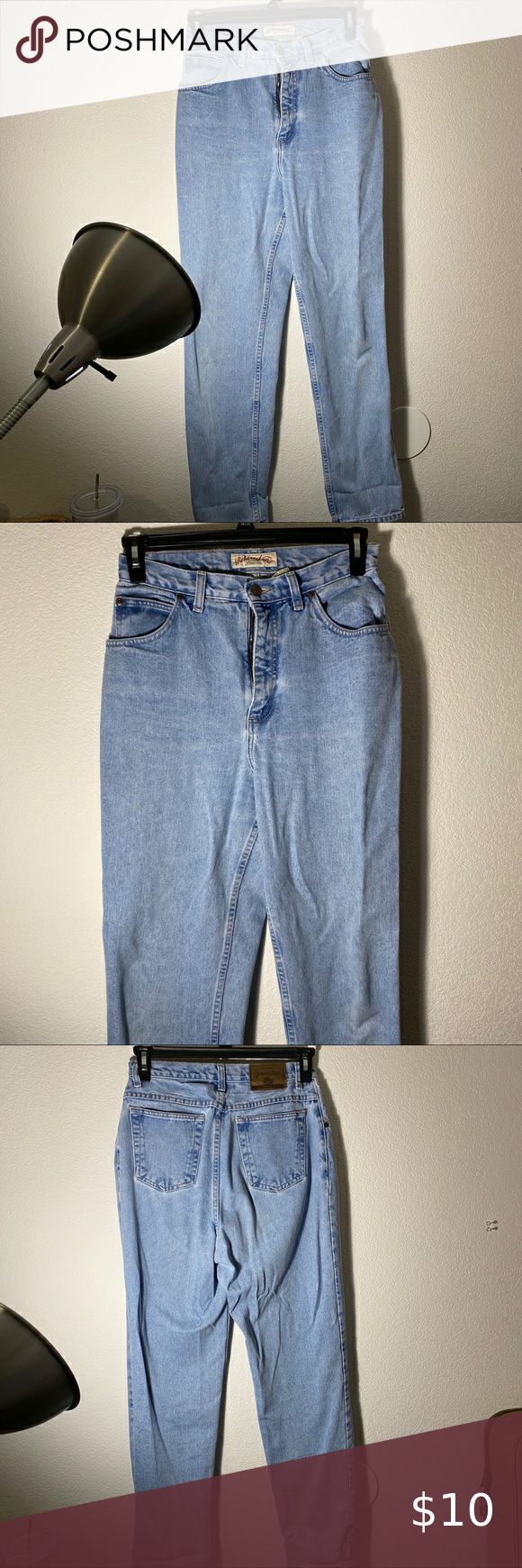 Photo of [ st. john's bay ] relaxed fit mom jeans very cute and thick jean material! ha…