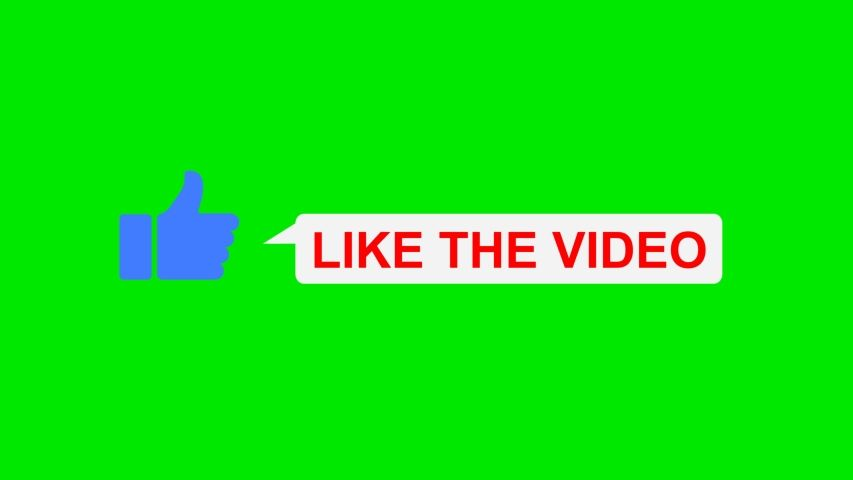 Animated Like Button, Lower Third Stock Footage Video (100% Royalty-free) 1056025046 | Shutterstock