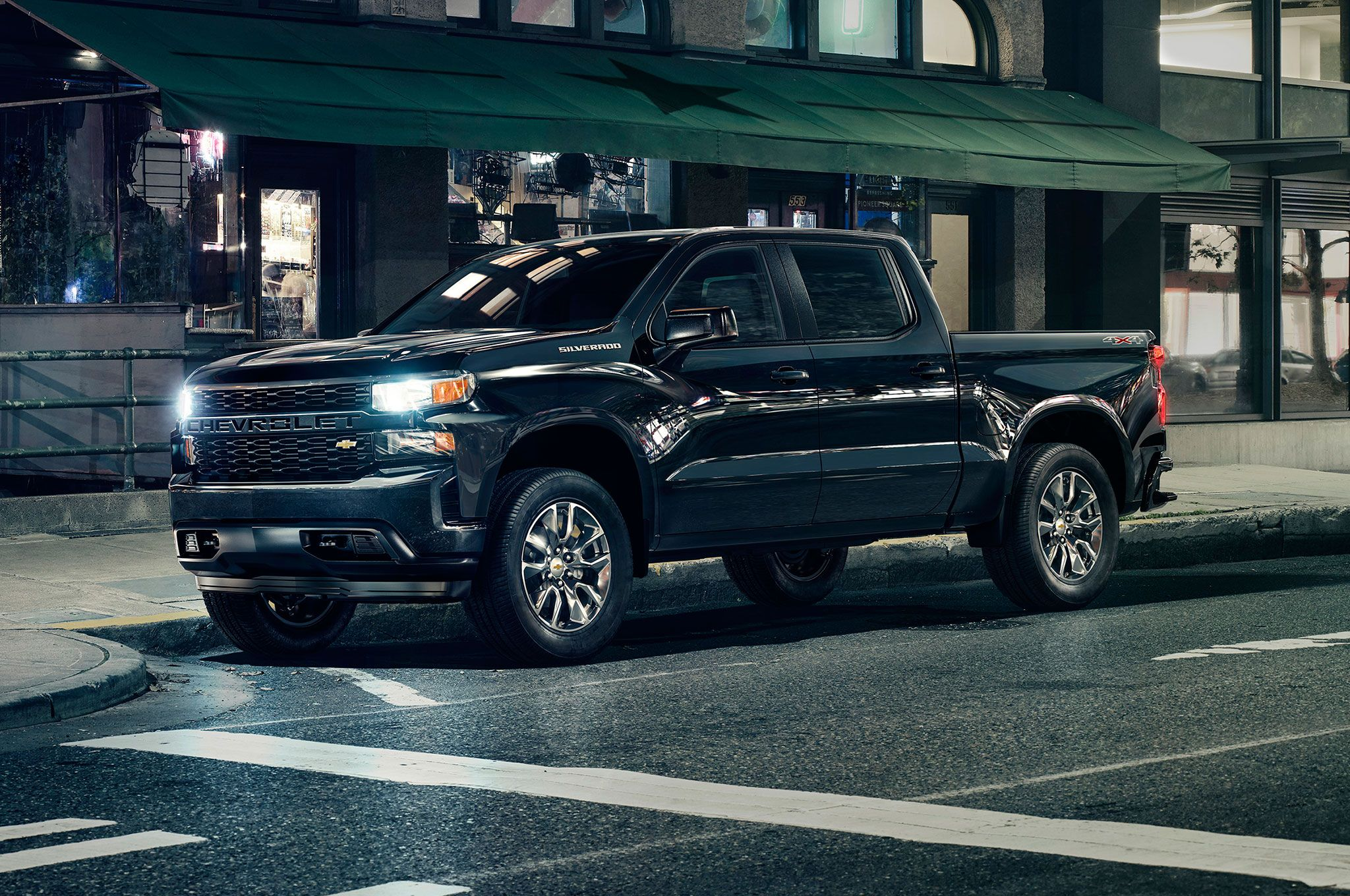 2019 Chevrolet Silverado 1500 In City The Bow Tie Readies An All