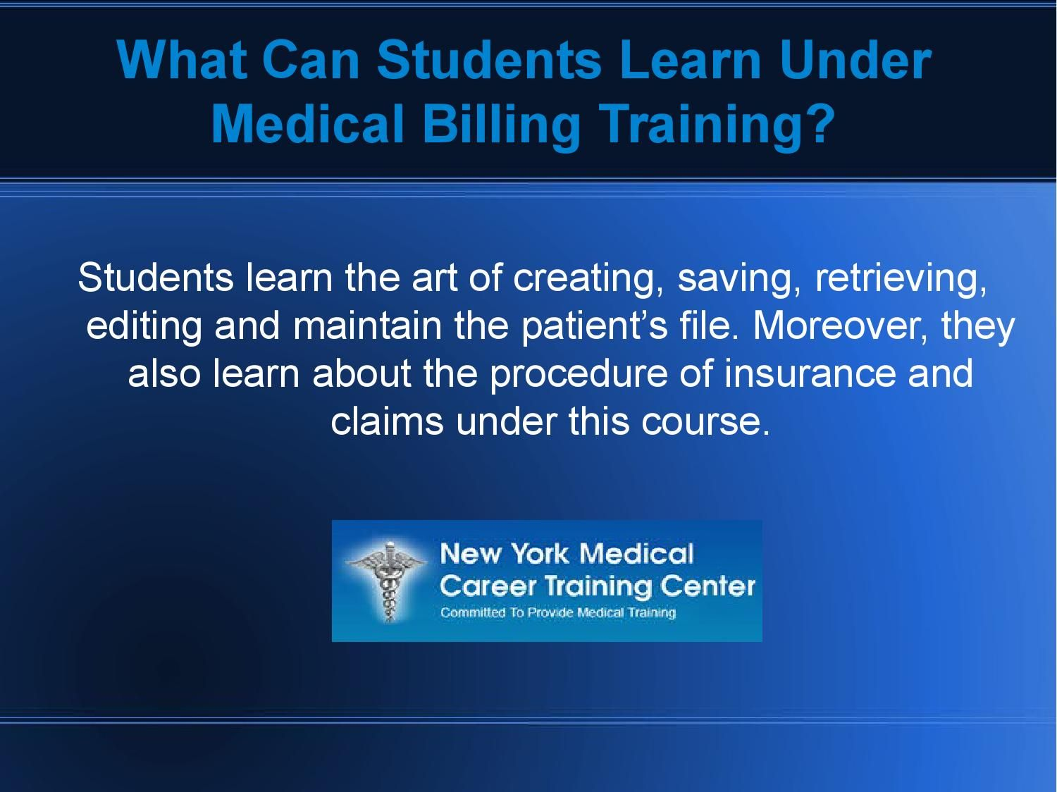 Secure Your Career With Professional Medical Billing