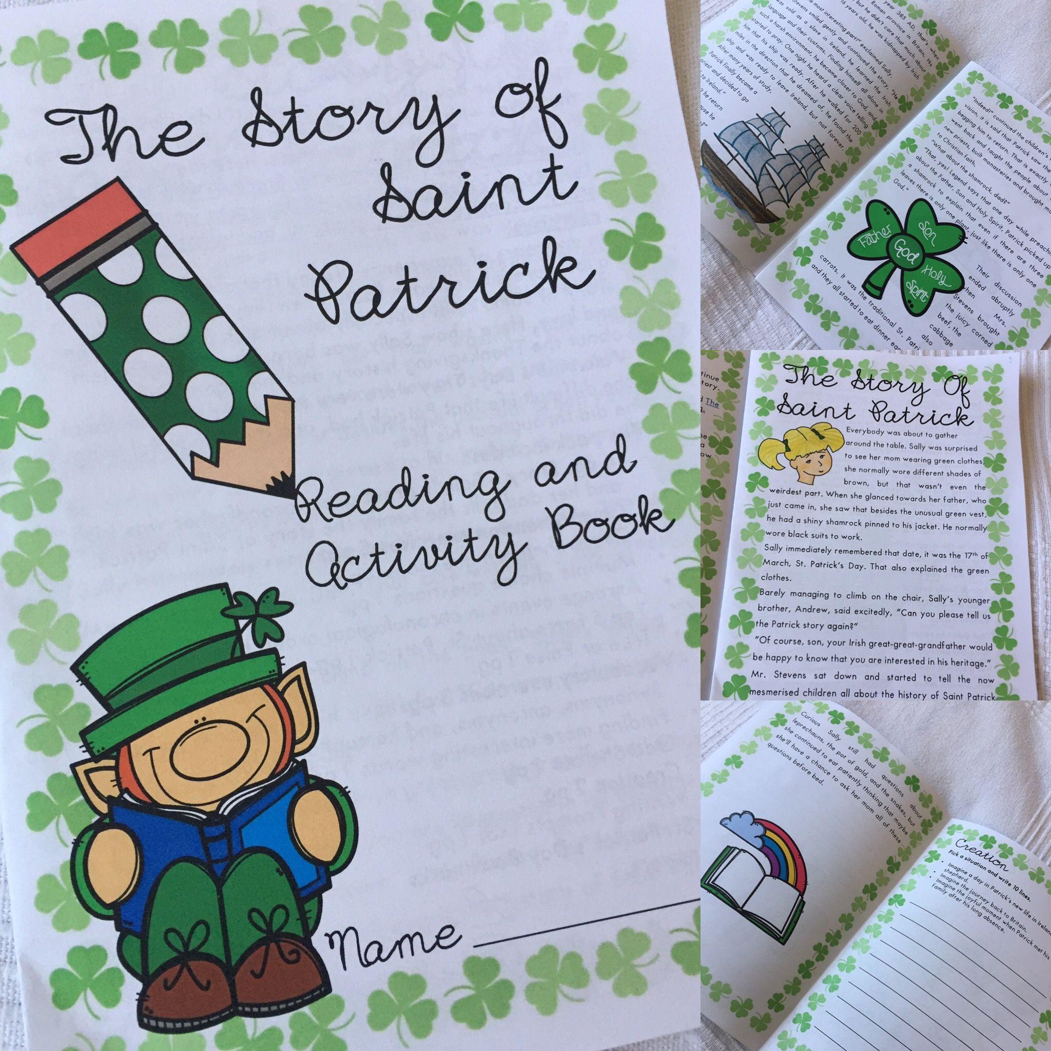 St Patrick S Day History Story Vocabulary Exercises