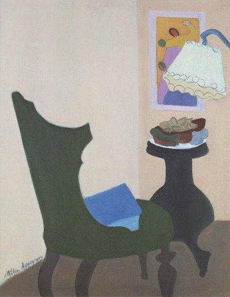MILTON AVERY  Green Chair (1944)