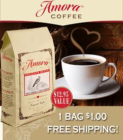 Un paquete de café Aroma $1 y envió gratis #fathersday