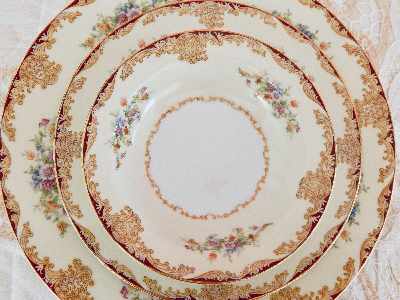 China Plates Noritake Dinnerware Set Occupied Japan Fine China