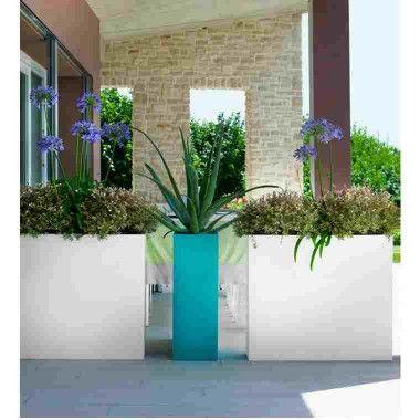 KUBE HIGH SLIM (CASSETTA ALTA - HIGH PLANT BOX,maceta alta resina ...