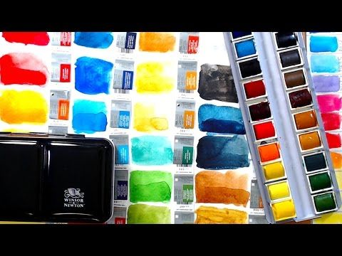 60 Winsor Newton Professional Watercolor Review Comparison