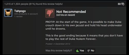 Best 'Duke Nukem Forever' Review
