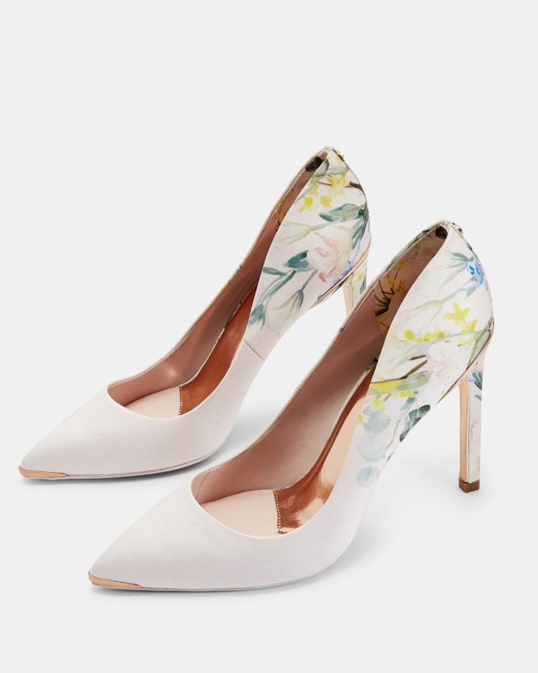 184136c1d54 Printed high heel courts - Pink | Court Heels | Ted Baker UK ...