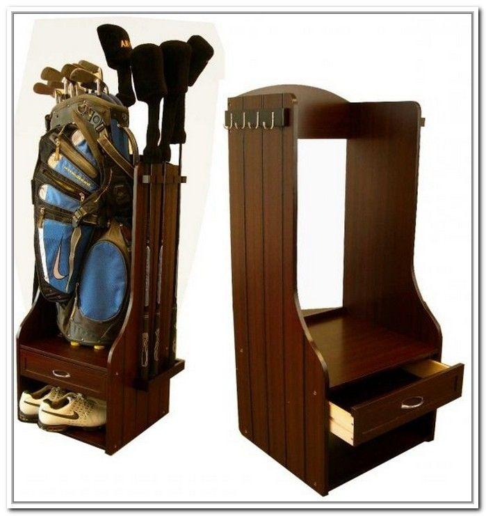 Amazing Wood Golf Bag Organizer   Google Search