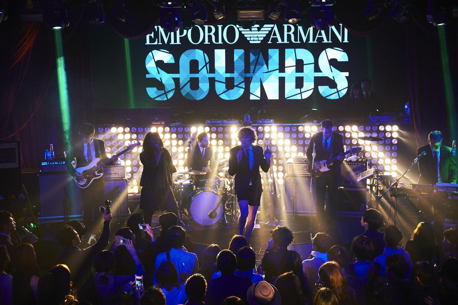 !!! (Chk Chk Chk) performing LIVE at the #EmporioArmaniSounds event in Osaka.  Download the App for exclusive content: http://emporioarmanisounds.com/download