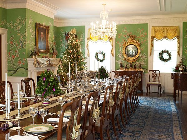 Pin By Nicole Wright On Drumthwacket Past In 2019 Dining