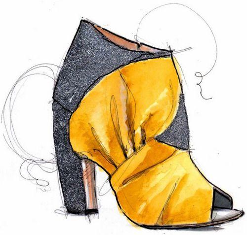 (1) shoe illustration | Tumblr