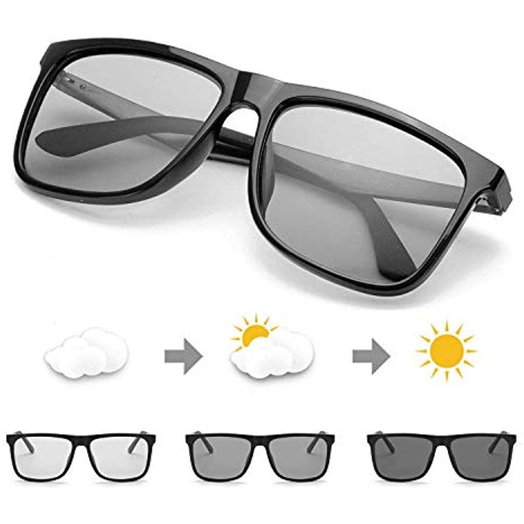 professionelles Design attraktiver Preis am besten wählen TJUTR Photochromatisch Sonnenbrille Herren für Autofahren ...