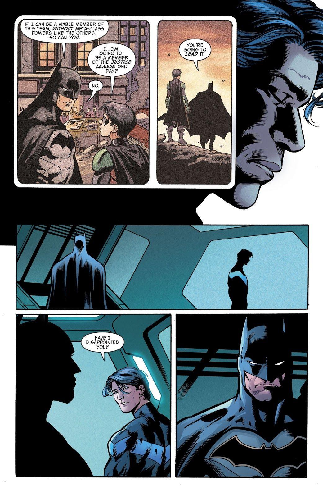 Titans 2016 Issue 19 Nightwing Cartoons Comics Batman