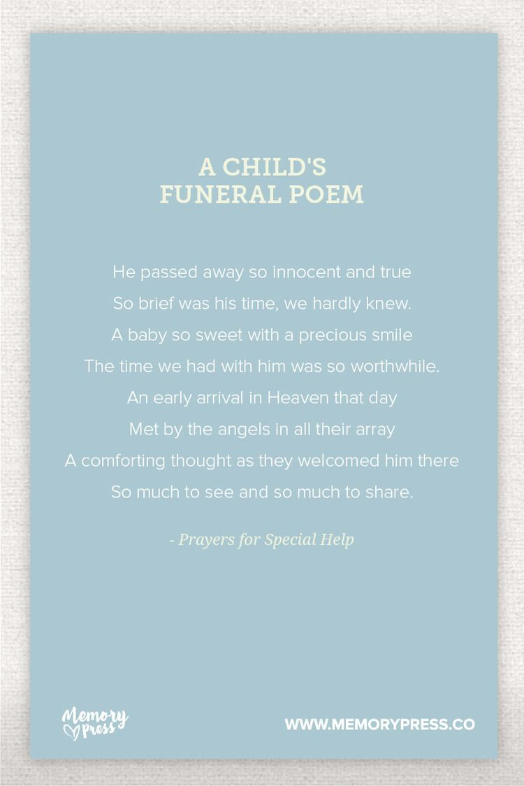Pin On Religious Funeral Poems