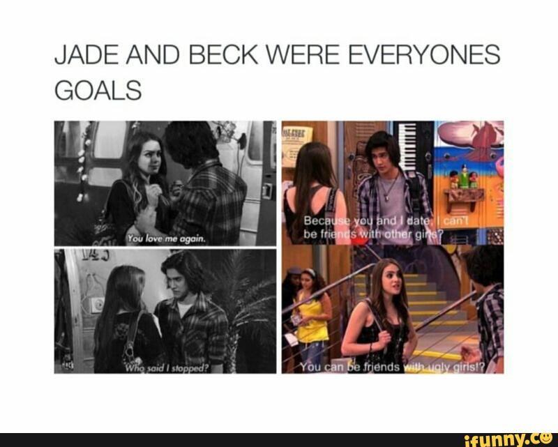 Varför Beck dating Jade