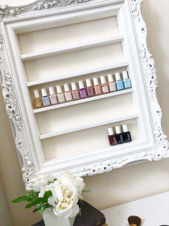 Grand Luxe Ornate Nagellack Organizer – Display Rack – Ornate Frame – Barock …   – Nail Art