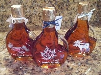 Buy New Hampshire Foods, Gifts & Products: Pure NH Maple Syrup in Decorative Glass