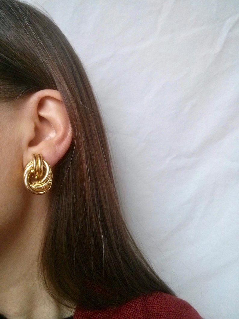 Large Statement Earrings Trendy