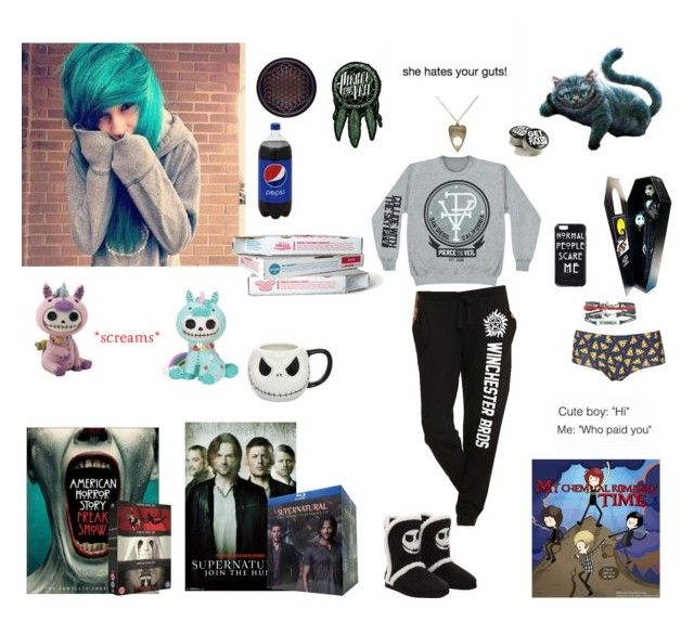 """""""Lazy day alone at home :3"""" by ninjastarlight1 ❤ liked on Polyvore featuring Topshop"""