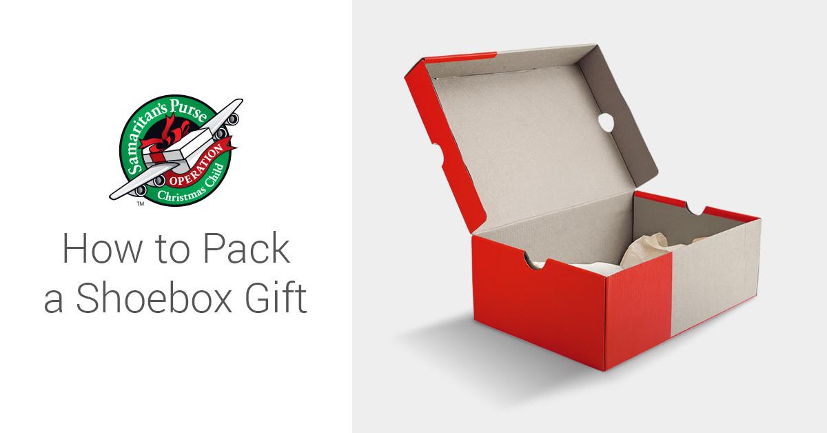 How to Pack a Shoebox Christmas child shoebox ideas