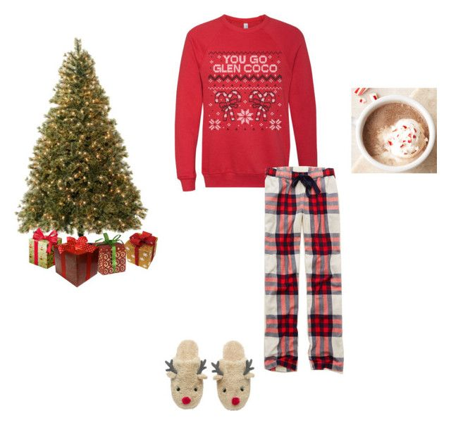 """Christmas ❄️"" by leahborgerding ❤ liked on Polyvore featuring Aerie"