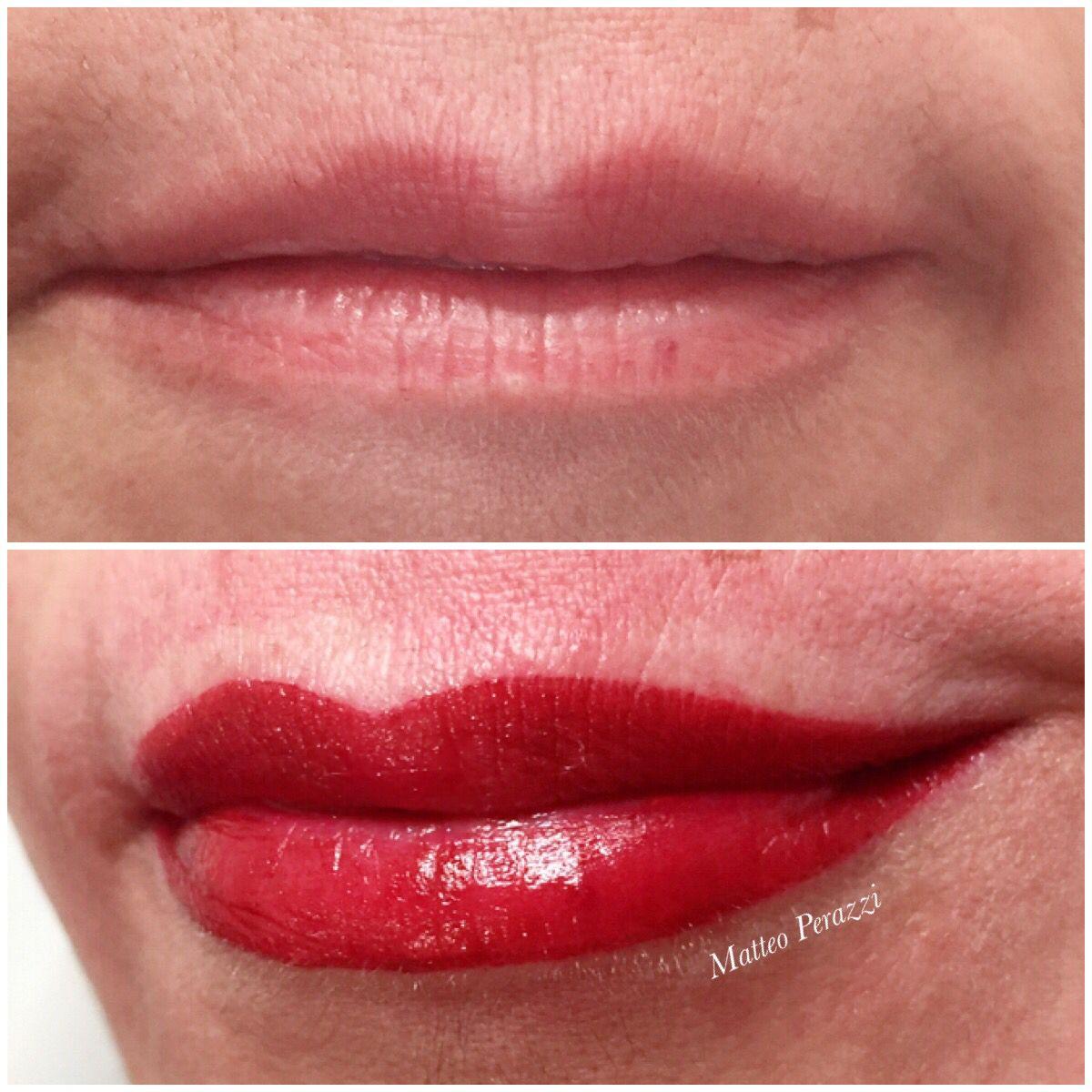 PMU Lips Lips, Makeup, Lip makeup