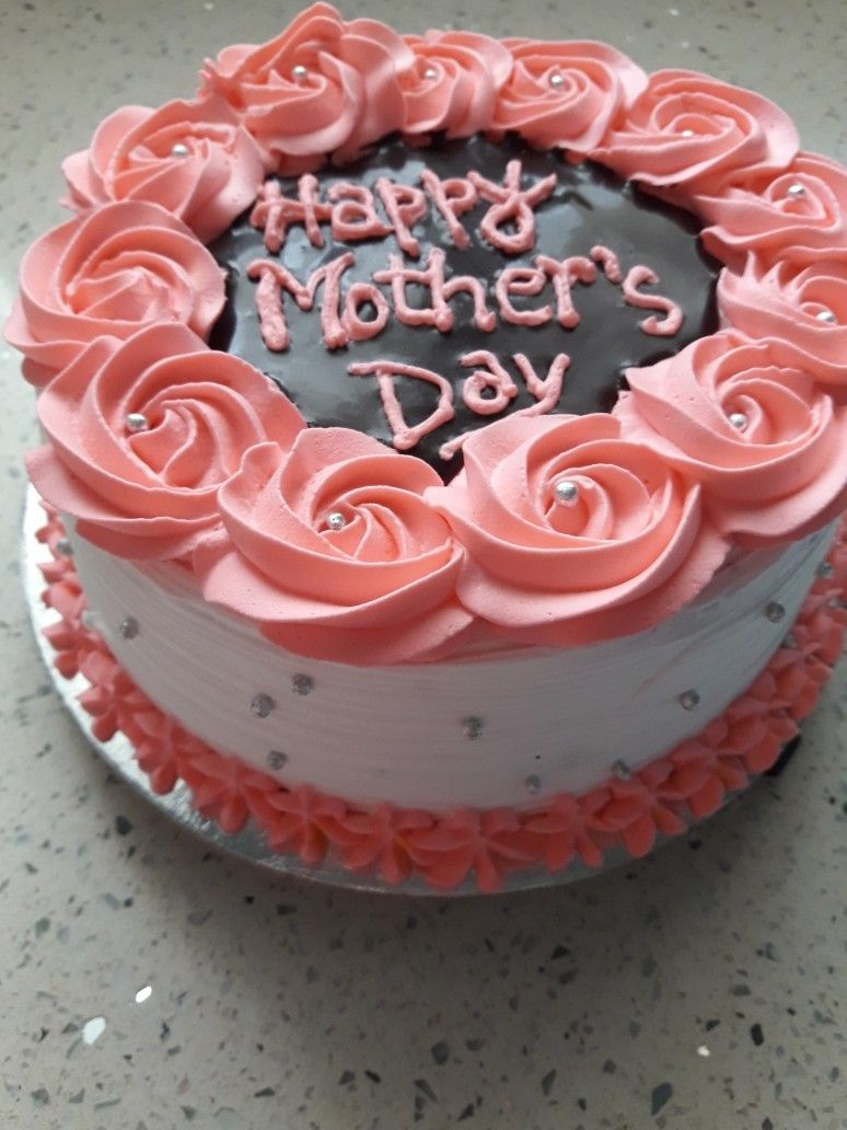 Rosette Chocolate Cake Cake Decorating Cake Cake Decorating
