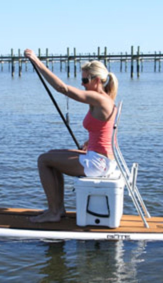Thats An Idea Use Your YETI Cooler As A Seat When You