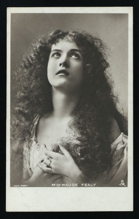 Miss Maude Fealy  the Beauty and the Actress | Vintage