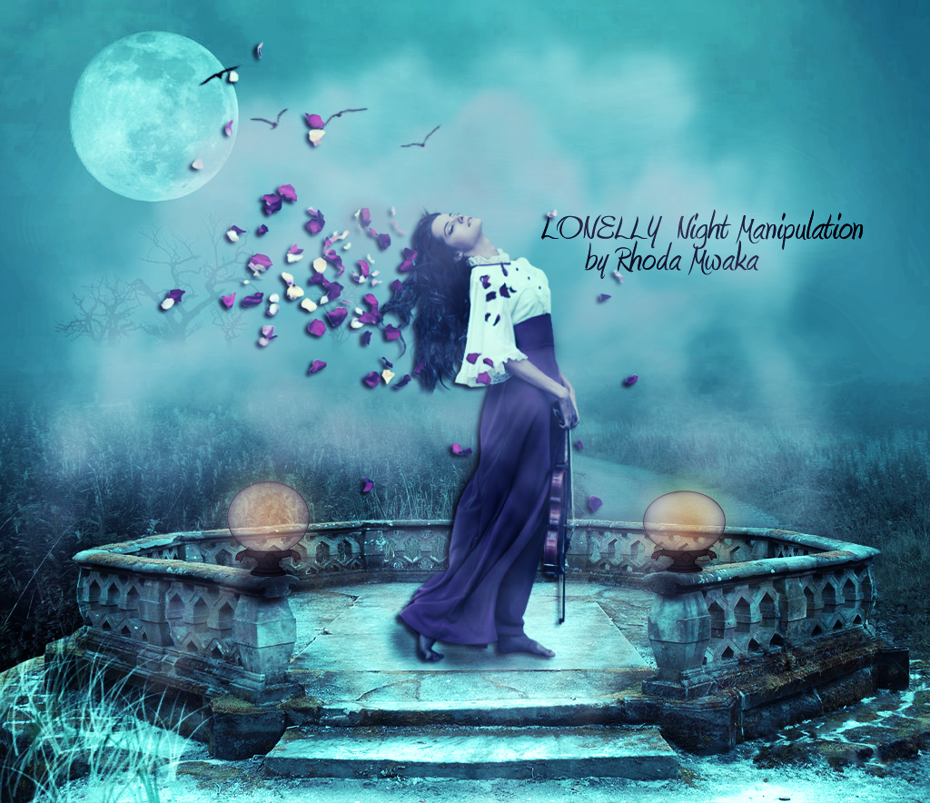 Midnight music manipulation by rhoda mwakavisit my blog for adobe photoshop tutorials for both experts and beginners learn all the tricks on how to use photoshop for editing and manipulations baditri Choice Image