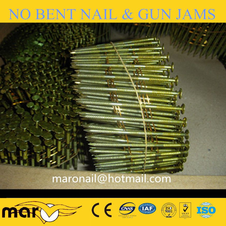 Clavos Helicoidales Manufacturer 2 1 4 X 099 Wire Pallet Coil Nails