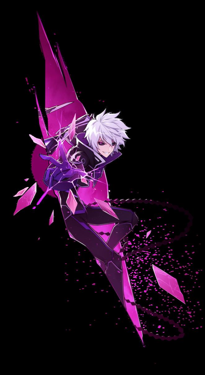 Add Esper Diabolico Ataque 2 By Izanlu Elsword Character Art Anime Art