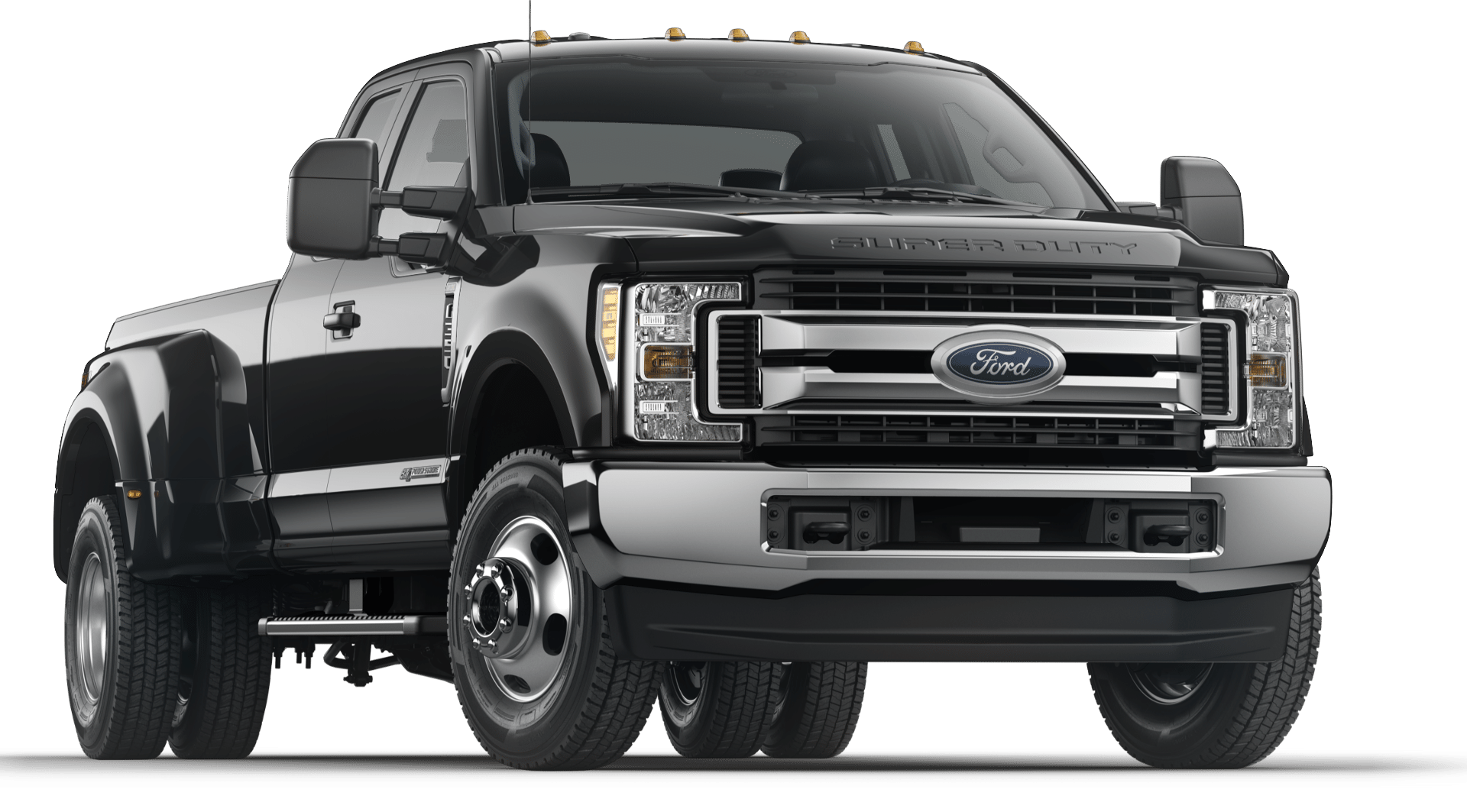 Ford F350 SuperDuty, 4WD Dually, with Turbo engine, spray