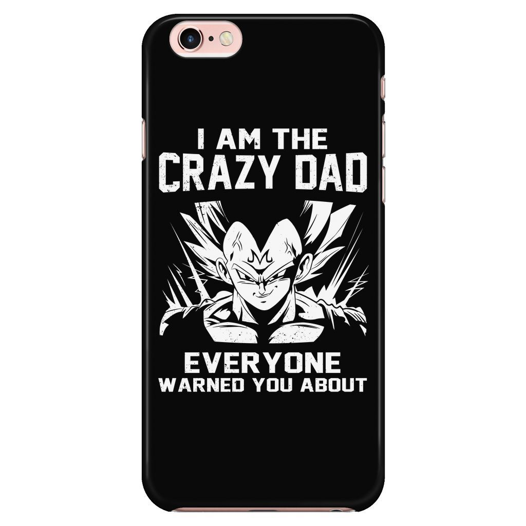 Saiyan - Iam The Crazy Dad - Iphone Phone Case - TL01227PC