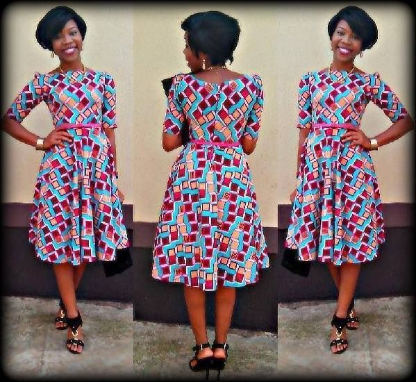 Robe Volante Tenues Pagne Pinterest Robe African Fashion Et