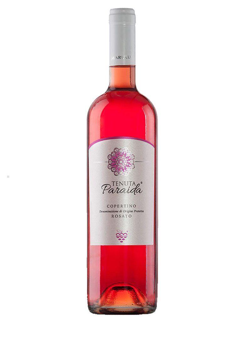 Salento Rose Wine Puglia Tenuta Paraida Azienda Vitivinicola Marulli Www Salentowineshop It Wine Rose Rosewine Vino Rosato Etichetta Vino Salento