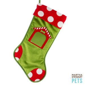 Picture Perfect The Martha Stewart Pets Photo Insert Stocking