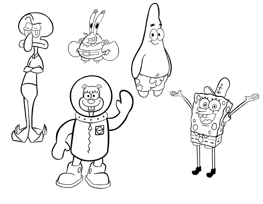 How To Draw Spongebob Step By Step Funny Sketch And Picture
