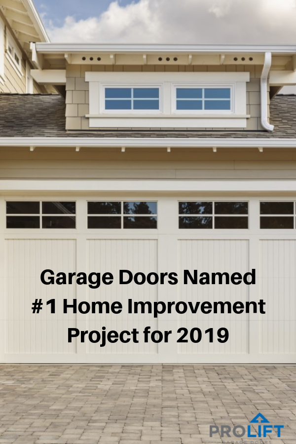 St Louis Mo Garage Doors Named The 1 Home Improvement Project For 2019 Again With Images Garage Doors Doors Home Improvement Projects