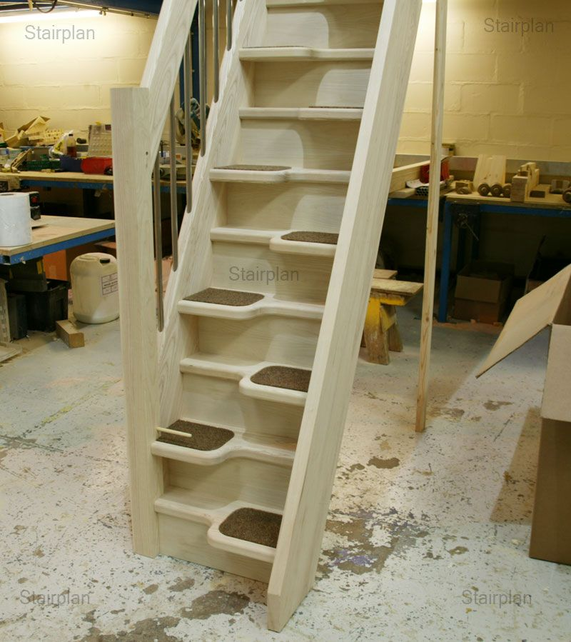 Basement Stair Ideas For Small Spaces: Loft Stairs For Small Spaces