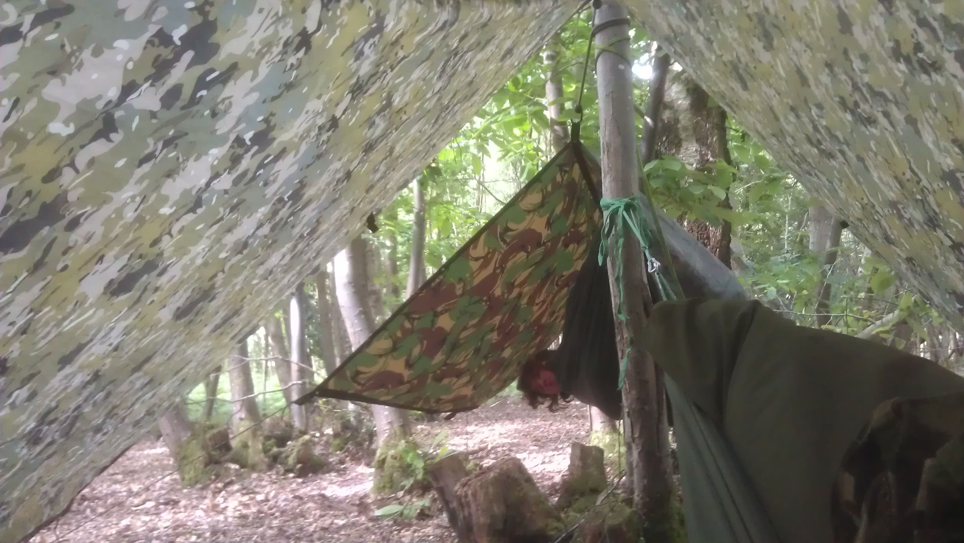 furthest is the british army dpm basha nearest is the dd tarp in multicam  both hammocks are made by dd hammocks  camping set up in  u0027series u0027  furthest is the british army dpm basha      rh   pinterest co uk