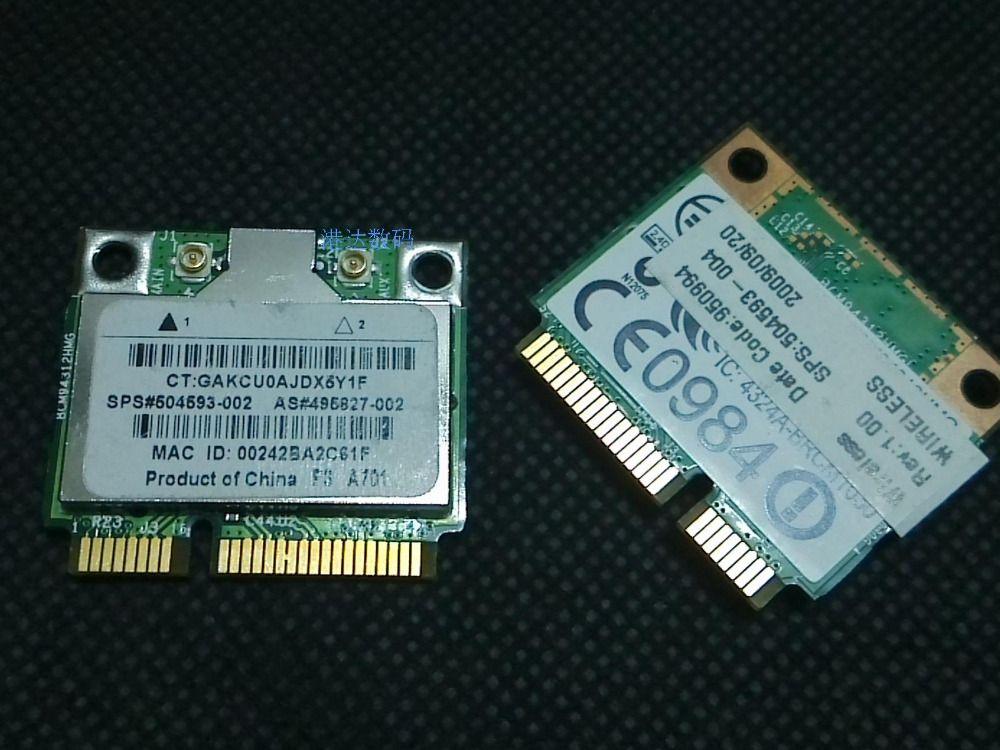 Broadcom BCM94312HMGB WIFI Wireless Laptop Card Half Mini PCI